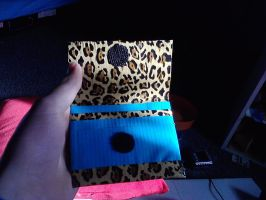 Inside Ductape wallet by Itsasammich