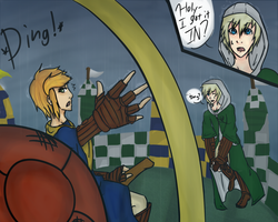 HA: Quidditch Match No.2 by lucy12143