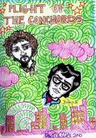 Flight of the Conchords by emisep32