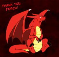 Thank you Torch by DragonsFlameMagic