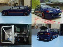 model WIP-honda civic EG6 by evil-hanzel