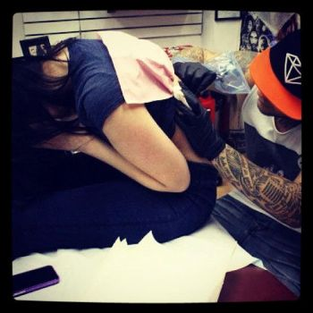 me tattooing again by Richroyalty