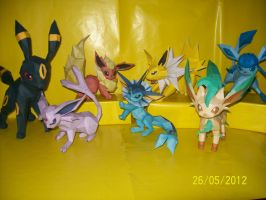 papercraft pokemon by rafex17