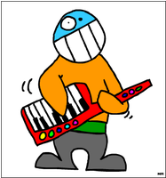 Bubs on Keytar by Nario