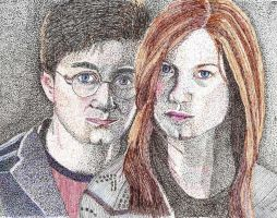 Harry Ginny Harry Potter by isabel56