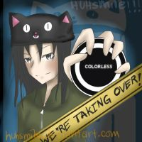 colorless is taking over by huhsmile