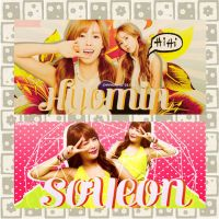 HyoMin & Soyeon ~ ChangMine design by ChangMine99er