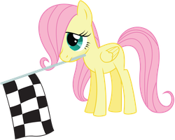 Filly Fluttershy by Midnight--Blitz
