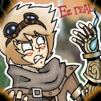 League of Legends: Ezreal by StevieWunderz