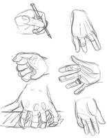 Hands by shaduf