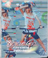 bicycle girl by missGlamo