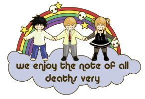 death note enjoyment by pepper-tea