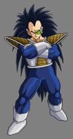 Raditz New Armor by hsvhrt