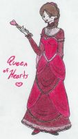 Queen of Hearts by TheRedCello