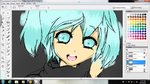 WIP-Miku by kitty-uchiha2008