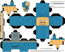 Cubee - Cornholio by CyberDrone