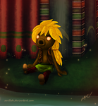 .:OC Project:. Pondering Adventure by Anilede