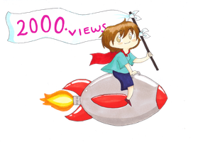 2000 views by The-Happy-Apple