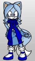 Trixie Lulamoon as a Sonic Character by cartoonfan22