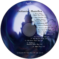 Enchanted Music Box CD lable design-Tessie Clun by tessieart333