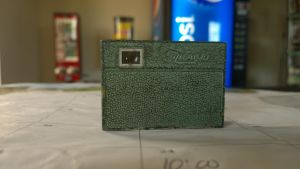Micro 16mm 1940's camera whit taker by AmorouxSkiLodge