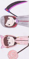 2 Persones but one Soul by Fynnalia