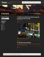 Titian - Tumblr Theme by Chasethebase