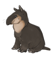 Tapirs are cute by zoeology