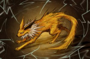 Jolteon by HaXonFangs