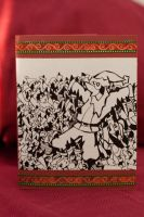 Moshpit Christmas Card by pinguino