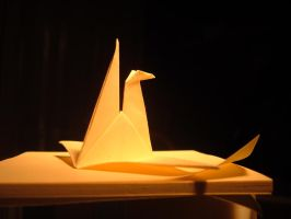 origami duck 2 wall_e by wall-e-ps