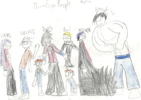 The First picture of the Cast by AC-Drawings