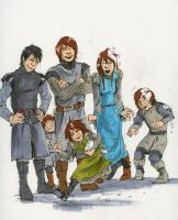 The Stark Children by Tribemun