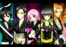 Shinigami Women's Society by talespirit