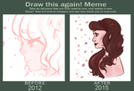 Draw this Again [Pretty in Pink] by SketchyLilKitten