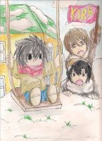 Snowy Death Note Day by The-Butterses