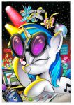 Vinyl Scratch San Diego Exclusive Cover art by andypriceart