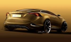 Volvo S60 Concept Back by TheCarloos