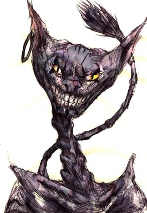 Cheshire Cat by StaxMaye