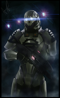 Mass Effect : Eclipse Mercenary - WIP by aca985