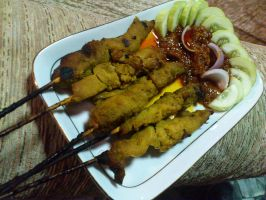 sate ayam 2 by plainordinary1