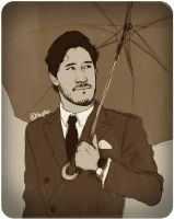 Rainy mood (Markiplier) by Shuploc