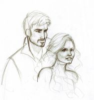 Captain Swan OUAT sketch by irina-bourry