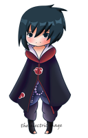 sasuke chibi by the-electric-mage