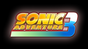 Sonic Adventure 3 Custom Logo by Mauritaly