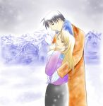 Winter Roy and Riza by SummerWolf