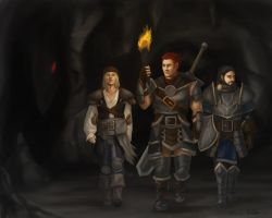 Pathfinder party by NIELSPETERDEJONG