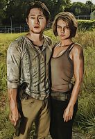 The Walking Dead: Glenn and Maggie: Crayon Re-Edit by nerdboy69