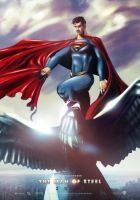 MAN OF STEEL 2012 Eagle by Medusone