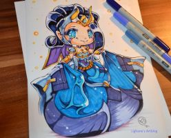 Victorious Morgana by Lighane